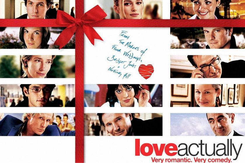 love actually, kerstfilm, romantische film, romantische komedie, kerstvakantie, huizenruil-